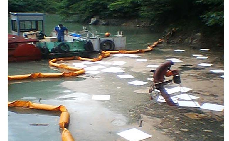船からの油漏洩